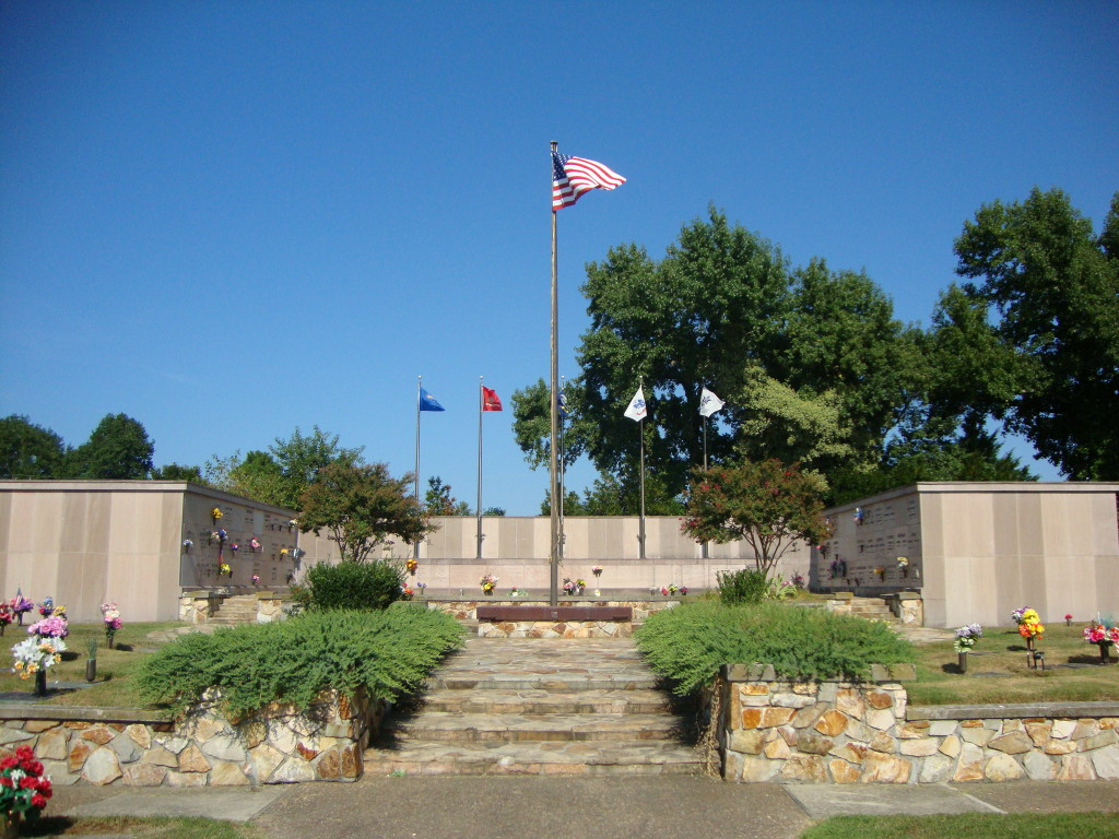 Veterans' Memorial at Rosewood Cemetery