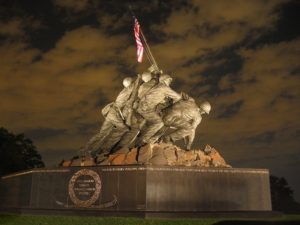 U.S. Marine Corps Memorial in Washington, DC.
