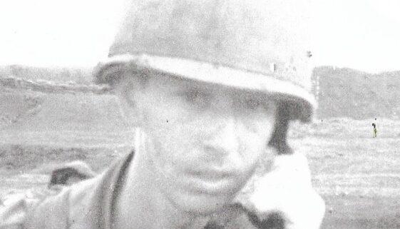 Specialist Jack Murphy in Vietnam - 1969