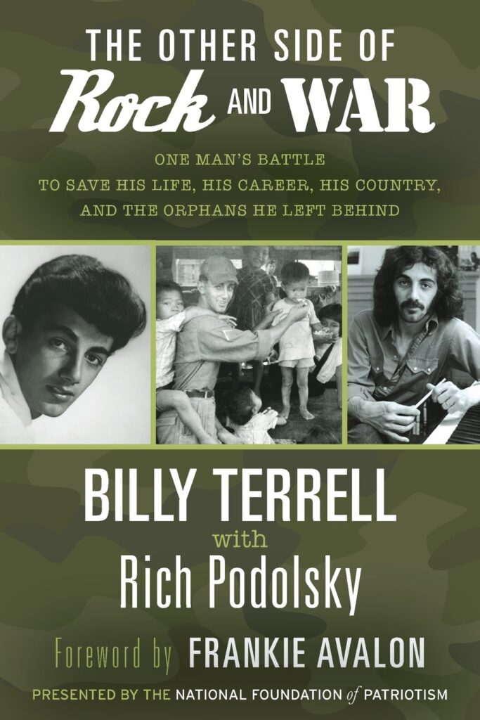 Image of front cover of Billy Terrell's autobiography The Other Side of Rock and War